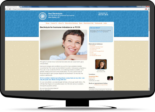 Websites for Electrologists - Hammer Data Systems, LLC.
